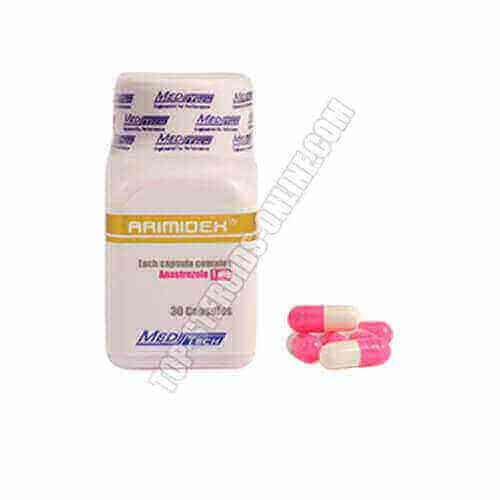 Arimidex - Anastrozol - Box von 30 Kapseln - 1 mg / Kapsel