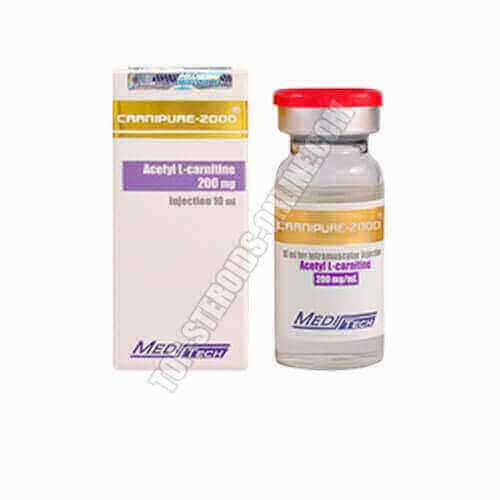Carnipure 2000 - Acetil L-Carnitina - Botella de 10 ml - 200 mg / ml