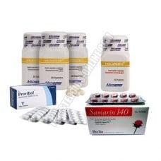 Pack-gato-de-force-Y-Resistencia-Halotestin-4-Semanas-esteroides-Oral-Meditech
