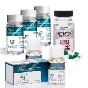 Dry pack - Winstrol + T3 Cytomel - Oral steroids (8 Weeks)