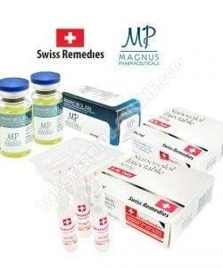 Ultimate dry pack - Winstrol + Primobolan - Injectable steroids (8 weeks)