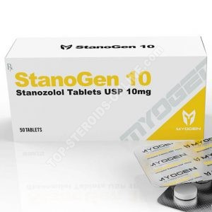 StanoGen 10 (Winstrol) - 10 mg / tablet - 50 tablets - MyoGen