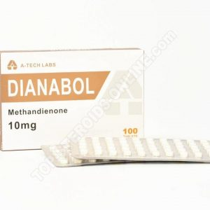 DIANABOL (Methandienone) – A-Tech Labs – 10mg – Boîte de 100tabs