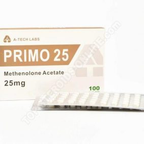 PRIMO 25 (Primobolan Acetate) - A-Tech Labs - 25mg - Πλαίσιο καρτελών 100