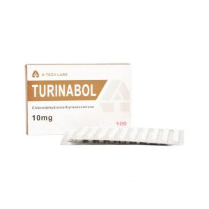 Turinabol (Chlorodehydromethyltestosterone)-A-Tech Labs-10mg-100 정 상자