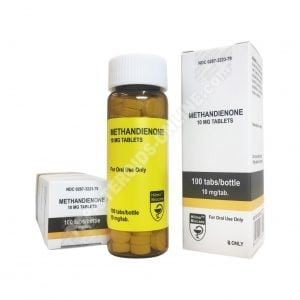 Methandienone - Hilma Biocare - 10mg - Box of 100tabs