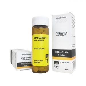 Stanozolol - Hilma Biocare - 10mg - Caixa de abas 100