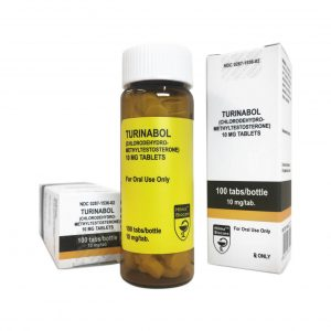 Turinabol - Hilma Biocare - 10mg - Box of 100tabs
