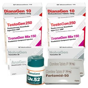 PACK LEAN MUSCLE (ORAL-INJECT) MYOGEN – DIANAGEN + TESTOGEN 250 + TRENAGEN MIX 150 + PROTECTION + PCT (10 WEEKS)