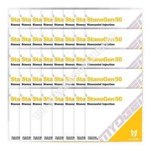 TOPLU PAKET [StanoGen 50 (Winstrol) MyoGen] ÜCRETSİZ 30 + 10