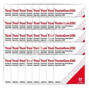PAQUETE A GRANEL [TestoGen 250 (Enantato de testosterona) MyoGen] GRATIS 30 + 10