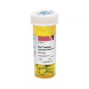 Anavar Lite 10mg 50tabs - Beligas Farmacêutica