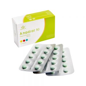 Anadrol 50mg 50tabs - Maha Pharma