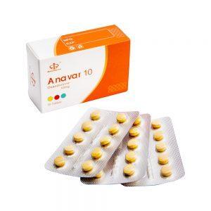 Anavar 10mg 50tabs - Maha Pharma