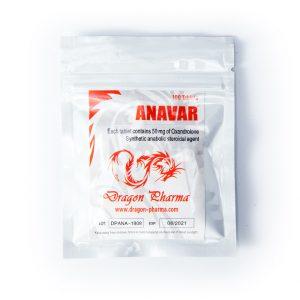 Anavar 50mg / tab 100 tabs - Dragon Pharma