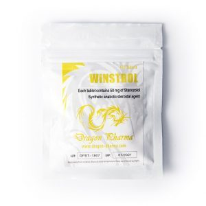 Winstrol – Dragon Pharma – 50mg – Boite de 100 tabs