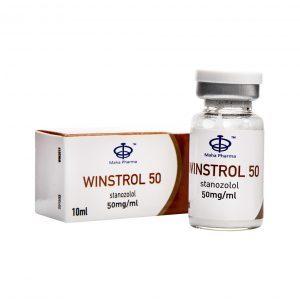 Winstrol 50 Inject 10ml vial - Maha Pharma