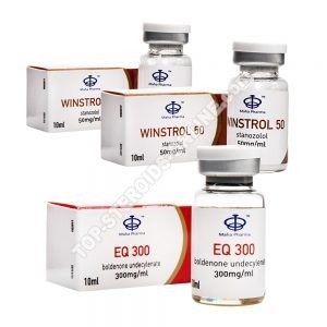 Endurance Pack - Boldenone + Winstrol - Esteróides Injetáveis - Maha Pharma