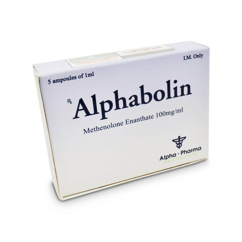 Alphabolin Methelone Enanthate 100mg / ml 5 x 1 Ampere - Alpha-Pharma