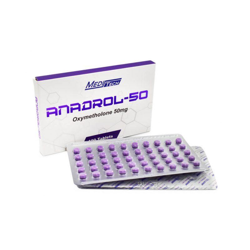 B-ANADROL-50 Oxymetholon 50 mg / tab 100 tab - Meditech