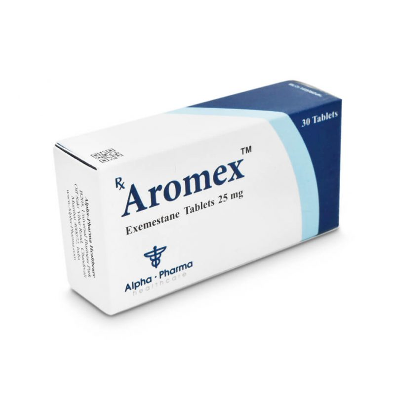 Aromex Aromasin - 30 tablets 25mg - Alpha-Pharma