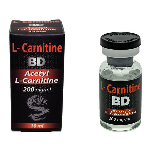 L-CARNITINE 200mg / ml x 10 ml - Black Dragon