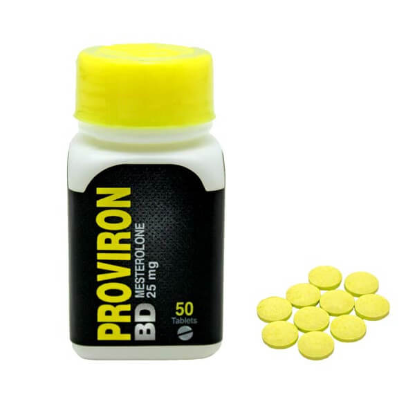 Proviron BD 25mg / 50 Tabs - Black Dragon
