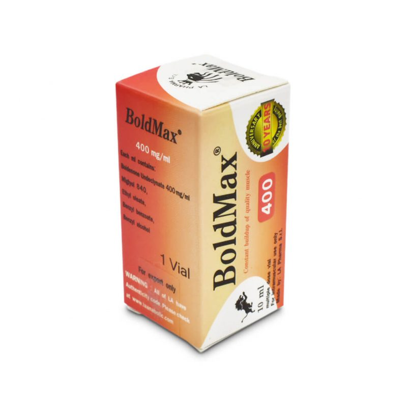 BoldMax 400 10 ml vial - The Pharma