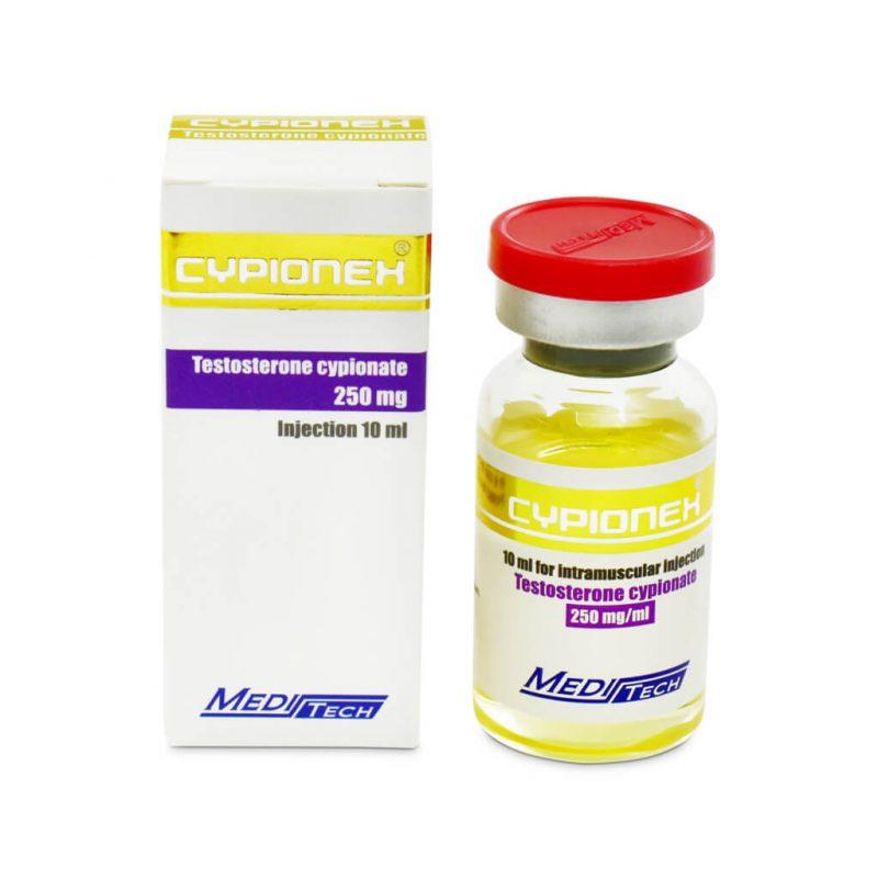 CYPIONEX Cypionate de testosterona 250mg / ml 10ml / vial - Meditech