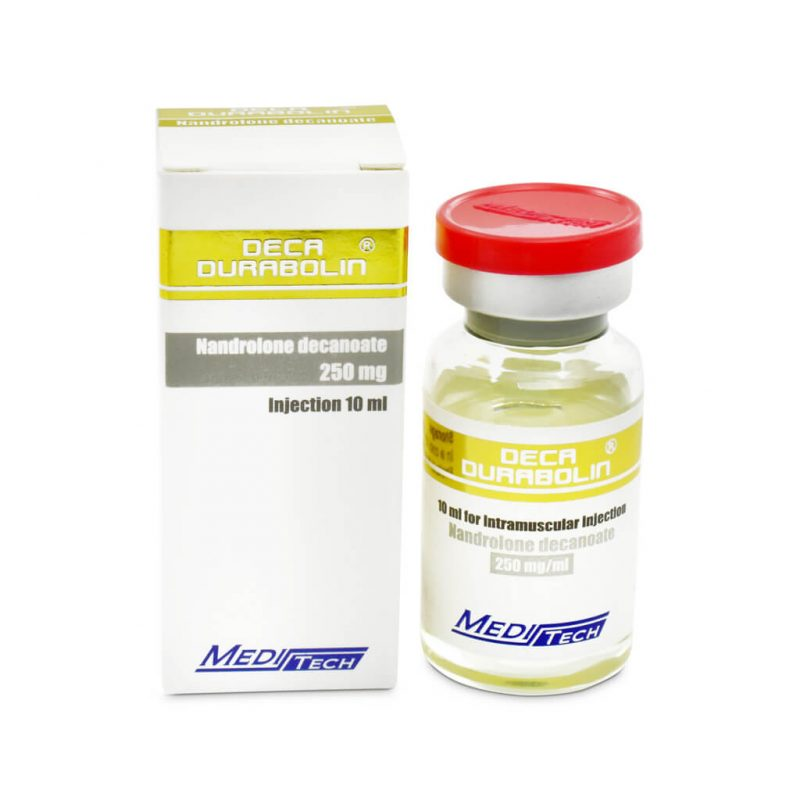 DECA-DURABOLIN Nandrolone decanoate 250mg / ml 10ml / vial - Meditech