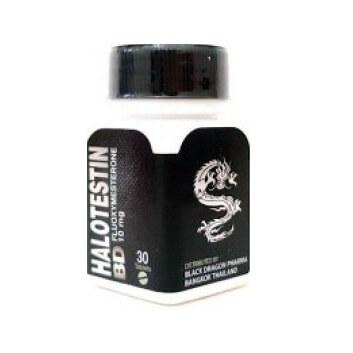 Halotestin BD 10mg / 30 Tabs - Black Dragon
