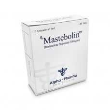 Mastbolin Masteron 100mg / ml 10 x 1ml amp - 알파 파마