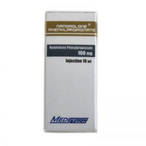 NANDROLONE-PHENYLPROPIONATE 100mg / ml 10ml / frasco - Meditech