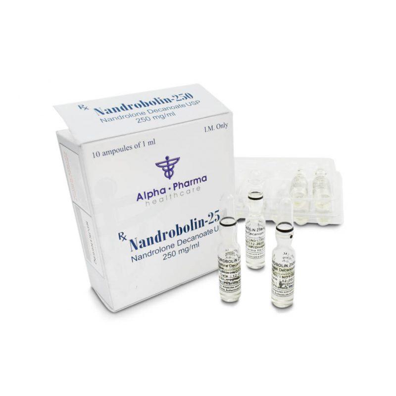 NandroBolin Deca 250mg / ml 10 x 1ml amp - Alpha-Pharma