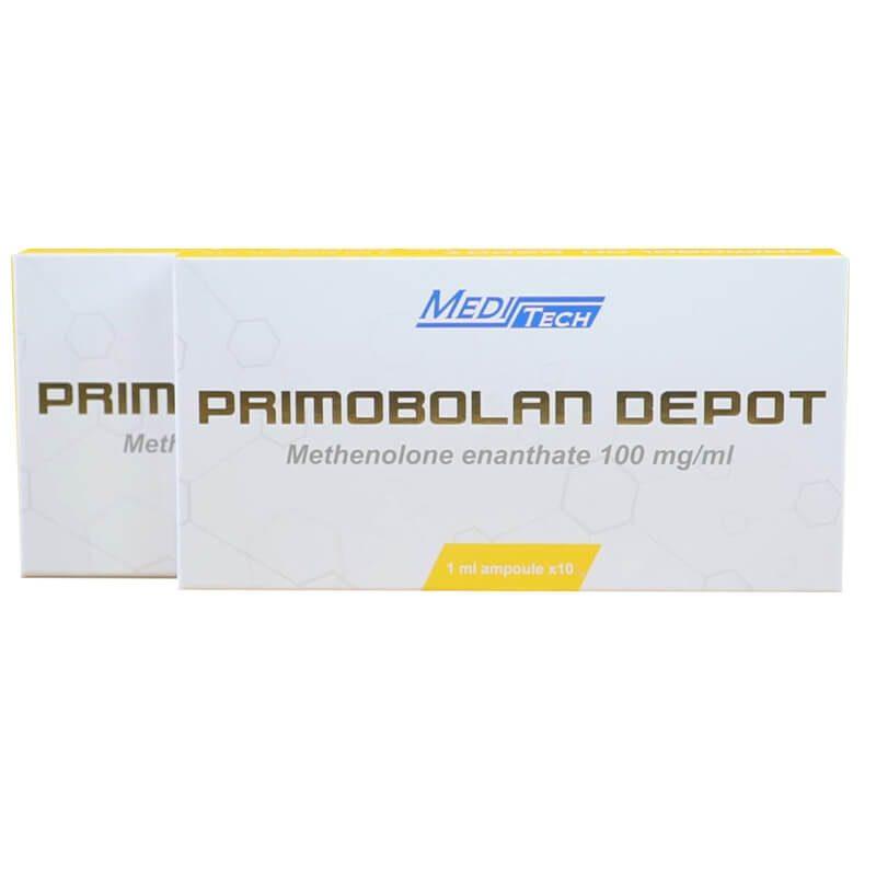 PRIMOBOLAN-1ML Methenolone enanthate 100mg / ml 1ML 10vials / box - Meditech