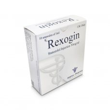 Rexogin Winstrol Suspension 50mg / ml 10 x 1ml Ampere - Alpha-Pharma