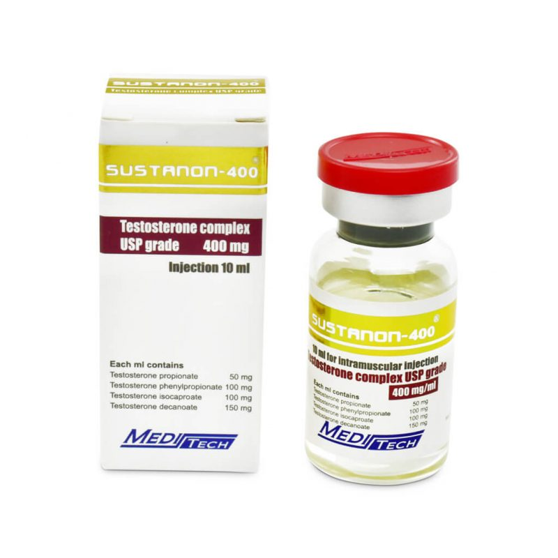 SUSTANON-400 Testosterone blend 400mg/ml 10ml/vial - Meditech