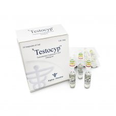 Testocyp Test Cyp 250mg / ml 10 x 1ml amplificatore - Alpha-Pharma