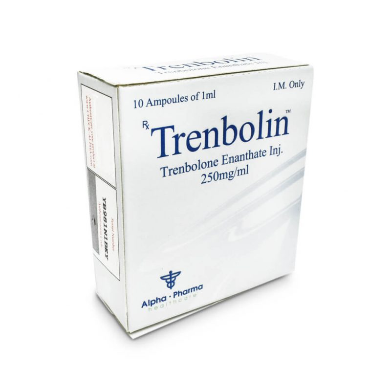Trenbolin Tren E 250mg / ml 10 x 1ml amp - Alpha-Pharma