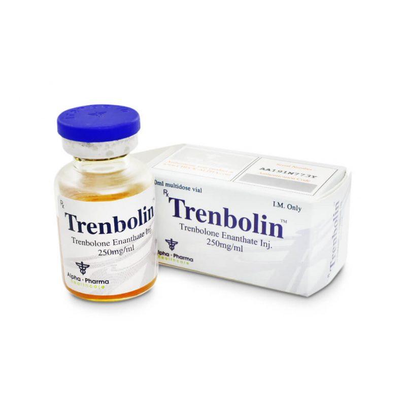 Trenbolin Tren E Durchstechflasche mit 250mg / ml 1 10ml - Alpha-Pharma