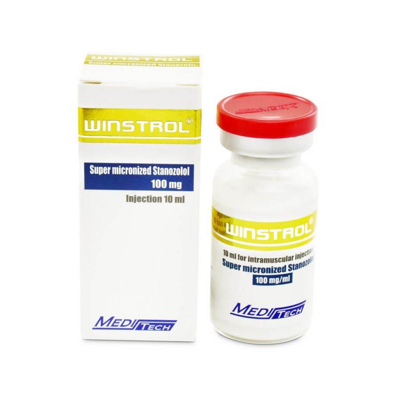 WINSTROL Super mikronisiertes Stanozolol 100mg / ml 10ml / Fläschchen - Meditech