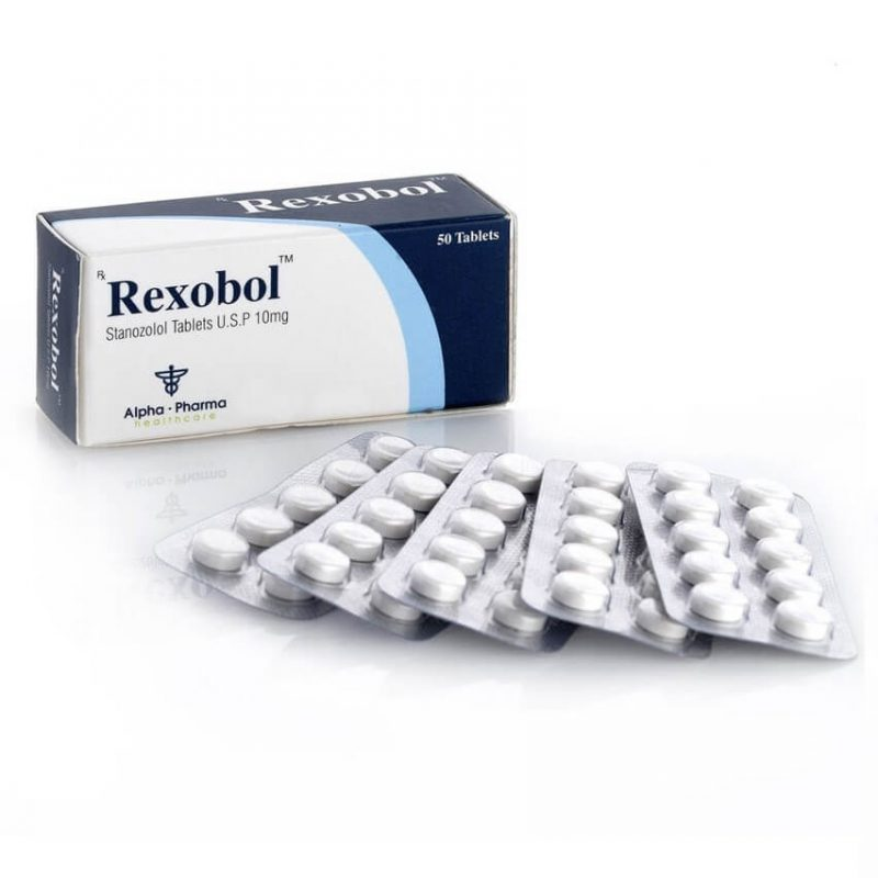 Rexobol Winstrol 10mg - 50 tablets 10mg - Alpha-Pharma