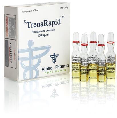 TrenaRepid Tren 100mg / ml 10 x 1ml amp - Alpha-Pharma