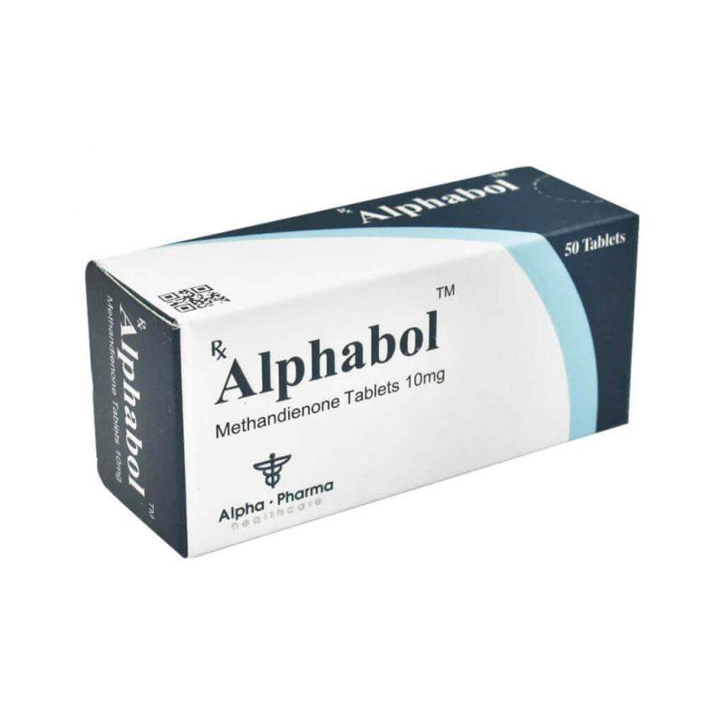 Methandienon Alphabol - 50 Tabletten 10mg - Alpha-Pharma