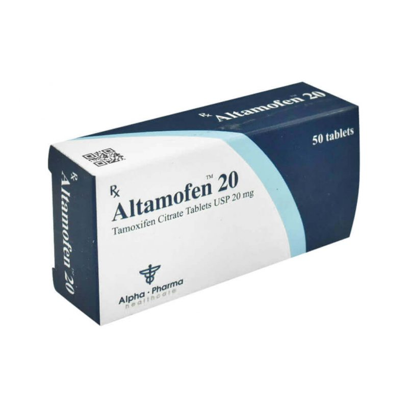 Altamofen Nolvadex - 50 tabletas 20mg - Alpha-Pharma