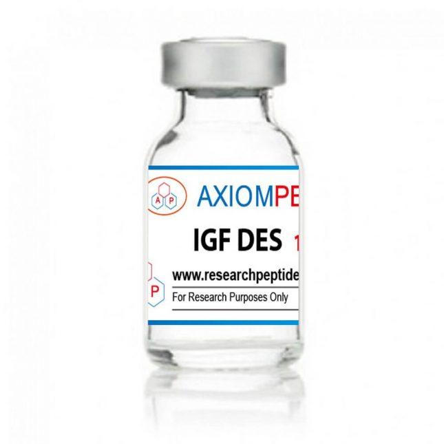 IGF-DES - frasco de 1mg - Axiom Peptides