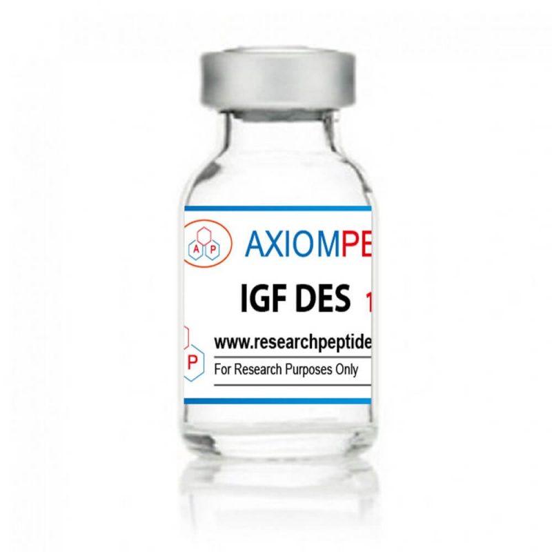 IGF-DES - Fläschchen mit 1mg-Axiom-Peptiden