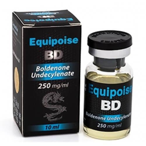Equipoise BD 250 mg / ml x 10 ml - Schwarzer Drache