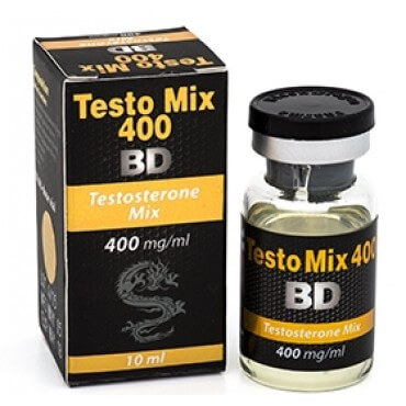 Testo Mix 400 BD 400 mg / ml x 10 ml - Black Dragon