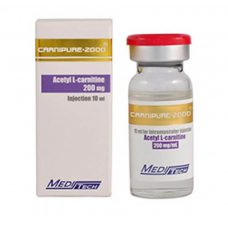 CARNIPURE-2000 Acetyl L-carnitine 200mg / ml 10ml / vial - Meditech